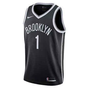 brooklyn nets trikot icon edition